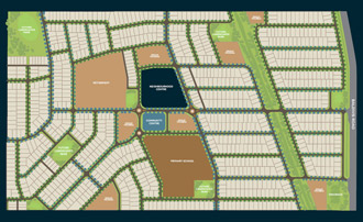 A view of the land for sale in Baldivis at Paramount